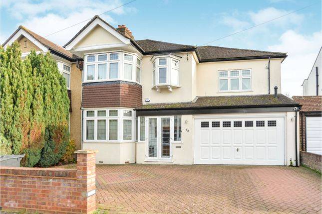 Thumbnail 4 bed semi-detached house for sale in Wickham Avenue, Shirley, Croydon