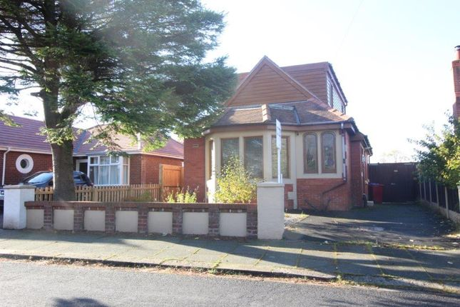 Thumbnail Detached bungalow to rent in Paddock Drive, Stanley Park, Blackpool, Lancashire
