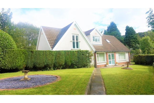 Thumbnail Detached house for sale in Dulais Fach Road, Neath