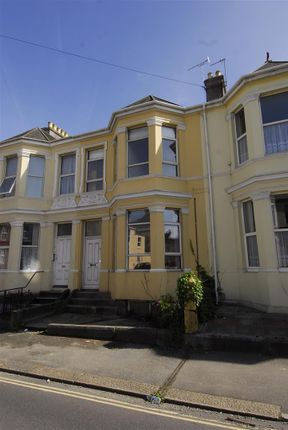 Thumbnail Flat to rent in Beaumont Road, Flat 1, Plymouth