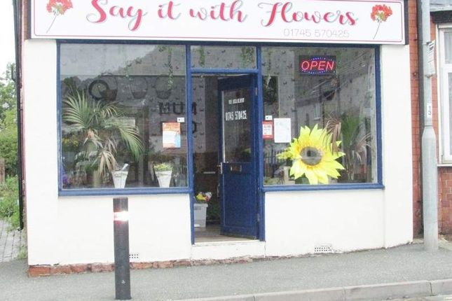 Retail premises for sale in 4 High St, Rhyl