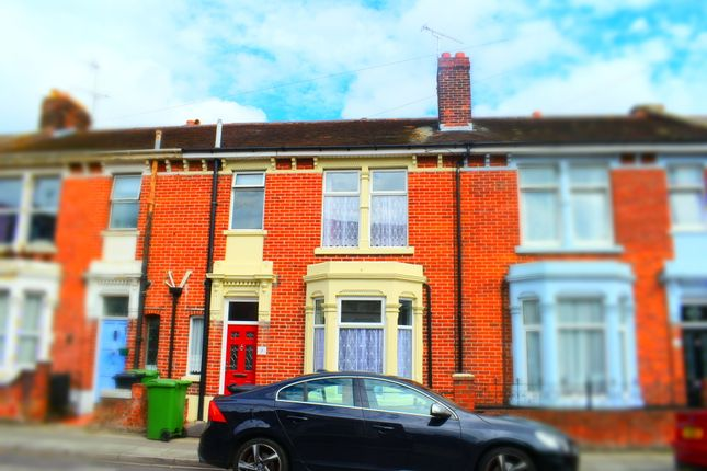 Thumbnail Terraced house to rent in Sandringham Road, Fratton, Portsmouth, Hampshire