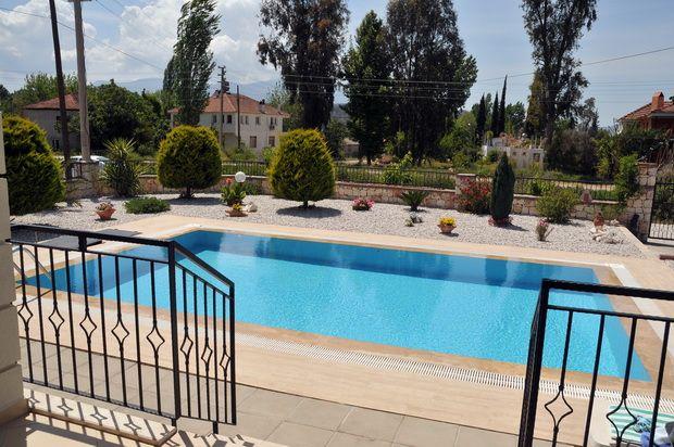 Private Pool of Seydikemer (Formally Kemer), Fethiye, Muğla, Aydın, Aegean, Turkey