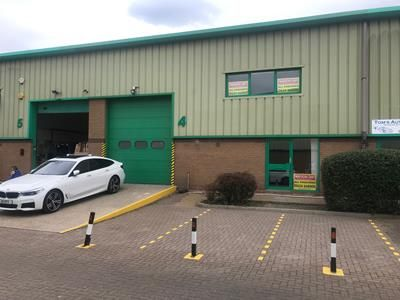 Thumbnail Light industrial to let in & 5 Meridian Park, Neptune Close, Medway City Estate, Rochester, Kent