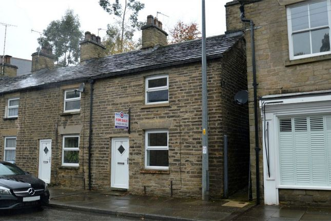Thumbnail End terrace house for sale in Wellington Road, Bollington, Macclesfield, Cheshire