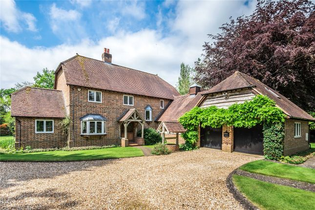 Thumbnail Detached house for sale in Salisbury Road, Sherfield English, Romsey, Hampshire