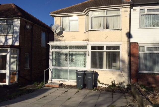 Semi-detached house in  Fairholme Road  Hodge Hill  Birmingham  Birmingham