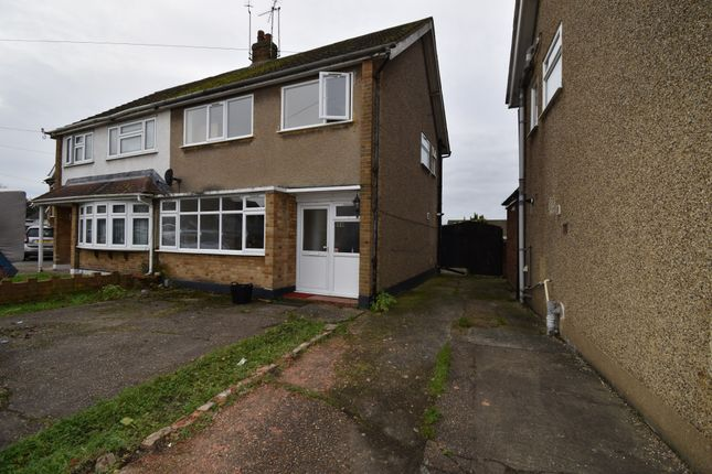 3 bed semi-detached house to rent in Cornwall Close, Hornchurch, Essex RM11