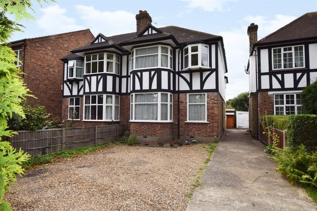 Thumbnail Semi-detached house for sale in Wensleydale Road, Hampton