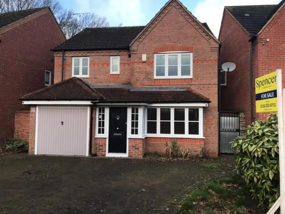 Thumbnail Detached house for sale in Rockery Close, Leicester, Leicestershire