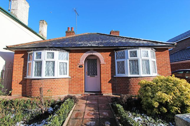 Thumbnail Detached bungalow for sale in Trinity Road, Halstead