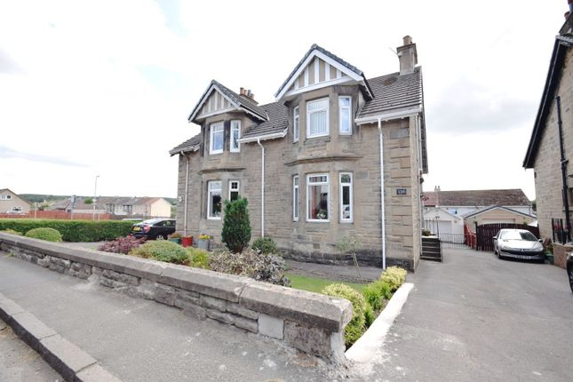 Thumbnail Semi-detached house for sale in Bonkle Road, Wishaw