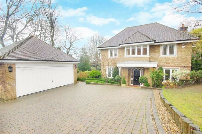 Thumbnail Detached house for sale in Burwood Place, Hadley Wood, Hertfordshire