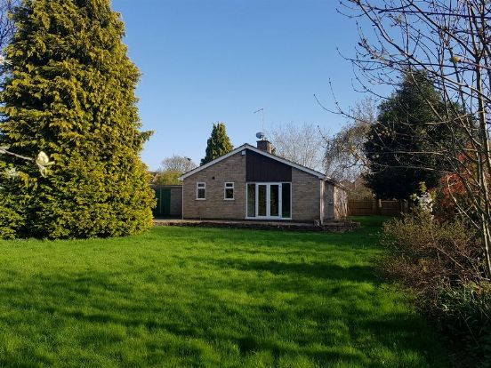 Thumbnail Detached bungalow for sale in Pitsford Road, Moulton, Northampton