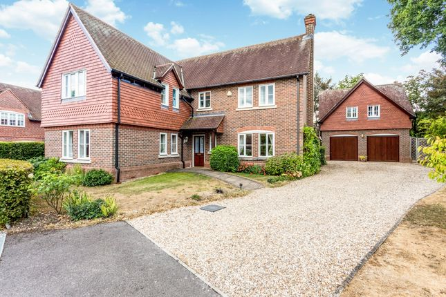 Thumbnail Detached house to rent in Palmers Yard, Ecchinswell, Newbury