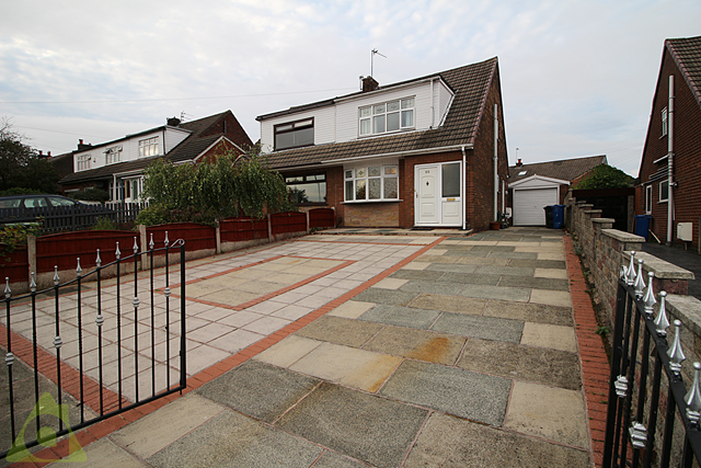 Thumbnail Semi-detached house for sale in Hollins Road, Hindley, Wigan