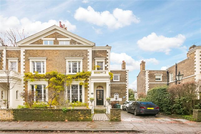 Thumbnail Semi-detached house to rent in Pembroke Villas, The Green, Richmond