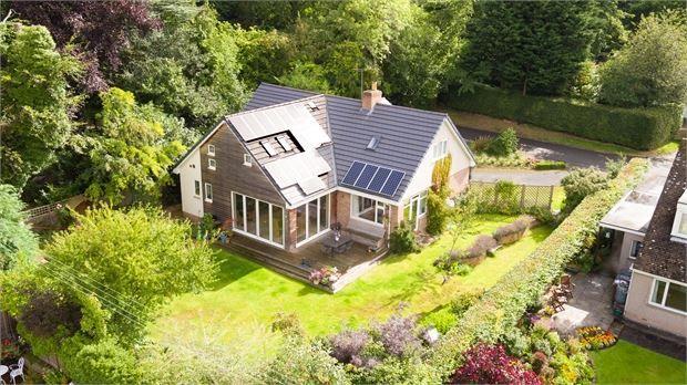 Thumbnail Detached house for sale in Morningside, Beech Drive, Corbridge, Northumberland.
