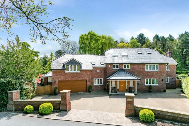 Thumbnail Detached house for sale in Chelford Road, Prestbury, Macclesfield, Cheshire