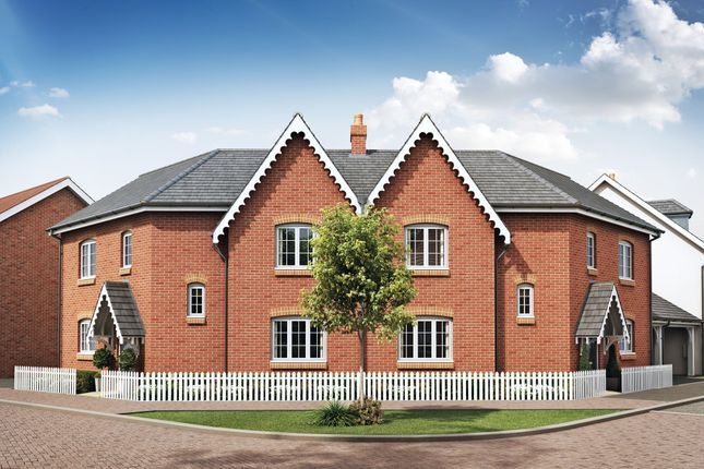"Thumbnail Semi-detached house for sale in ""Fairway"" at Great Denham, Bedford"