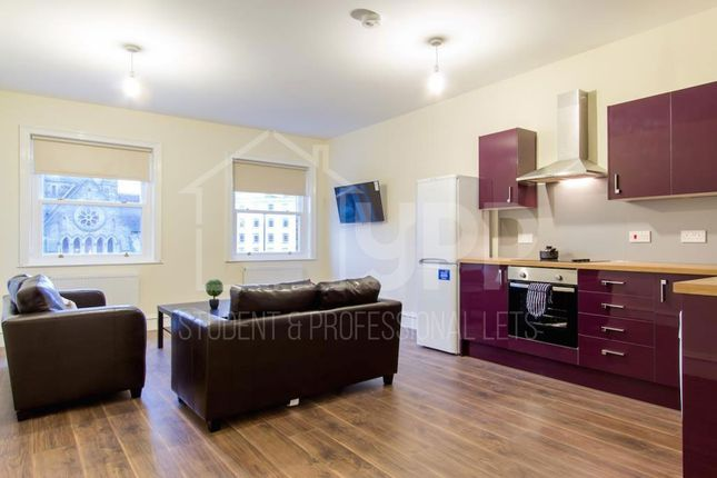 Thumbnail Flat to rent in Blenheim Terrace, Leeds
