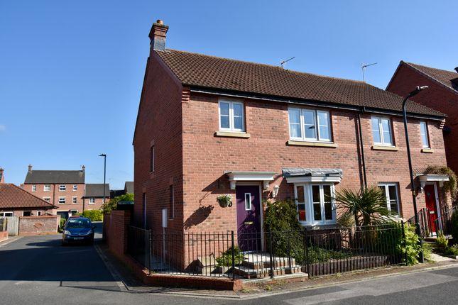 Thumbnail Semi-detached house for sale in Brindle Way, Norton, Malton