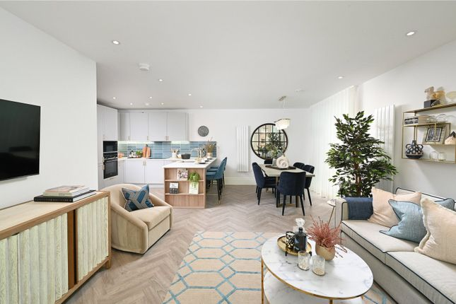 Thumbnail Flat for sale in Bedivere, Knights Quarter, Winchester, Hampshire