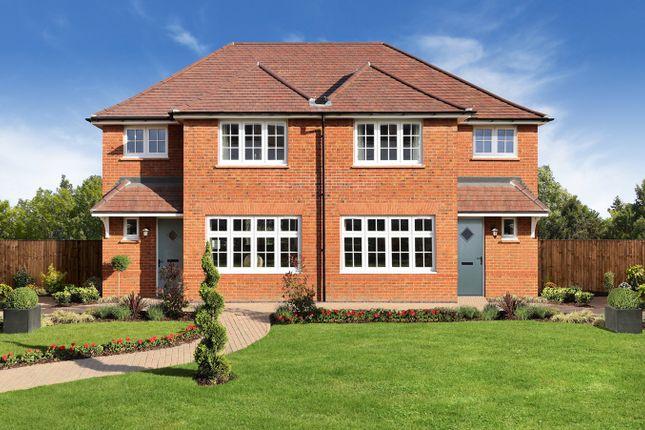 Thumbnail Semi-detached house for sale in Blaise Park, Milton Hill, Milton Heights, Abingdon