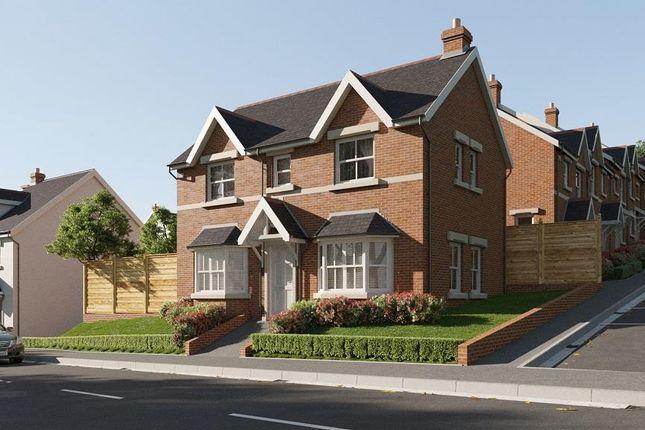 Thumbnail Detached house for sale in Plot 53, Maes Helyg, Vicarage Road, Llangollen