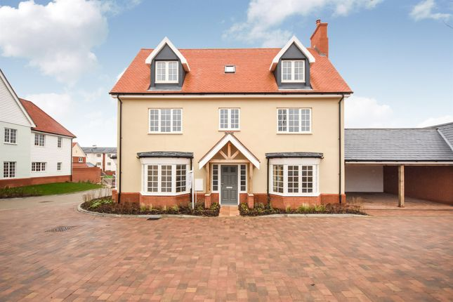 Thumbnail Detached house for sale in The Old Brewery, Hartford End, Chelmsford