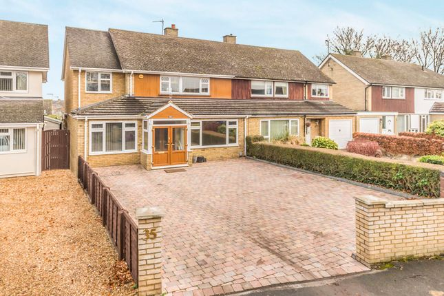 Thumbnail Semi-detached house for sale in New Road, Melbourn, Royston