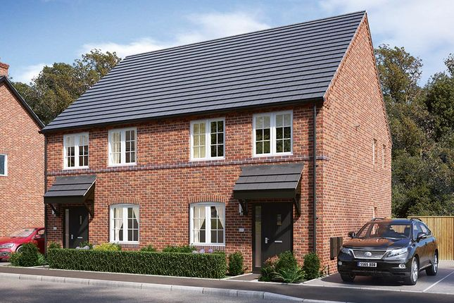 Semi-detached house for sale in Plot 9 Danetre Place, Daventry