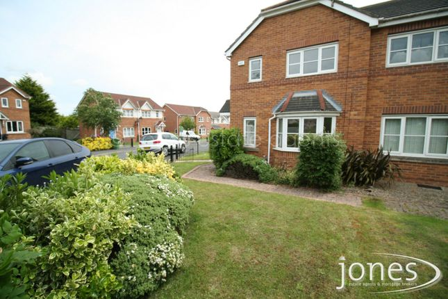 Thumbnail Semi-detached house to rent in Honeycomb Avenue, Stockton On Tees