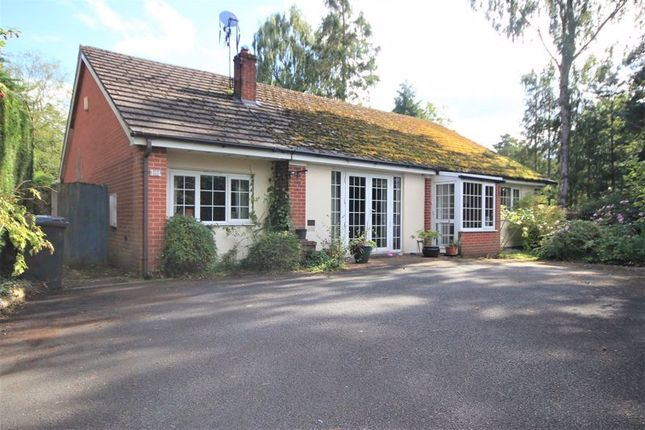 Thumbnail Detached bungalow for sale in Twemlows Avenue, Higher Heath, Whitchurch