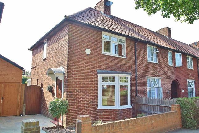 Thumbnail End terrace house to rent in St Helier Avenue, Morden