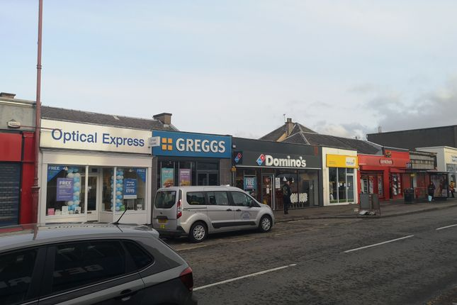 Thumbnail Retail premises for sale in High Street, Cowdenbeath