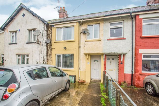 Terraced house for sale in Madoc Road, Tremorfa, Cardiff