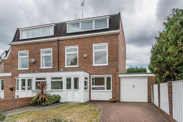 Thumbnail Semi-detached house to rent in York Avenue, London