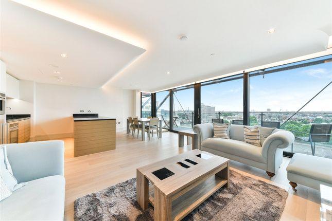 Thumbnail Flat to rent in Merano, 30 Albert Embankment, London