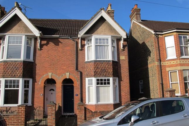 Thumbnail Semi-detached house to rent in Oakhill Road, Horsham