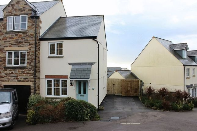 Thumbnail End terrace house for sale in Hilda Row, Gwithian Road, St. Austell