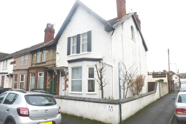 Thumbnail End terrace house for sale in Cable Road, Hoylake, Wirral