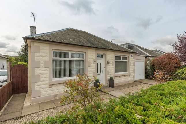 Thumbnail Detached bungalow for sale in 66 Meadowhouse Road, Edinburgh