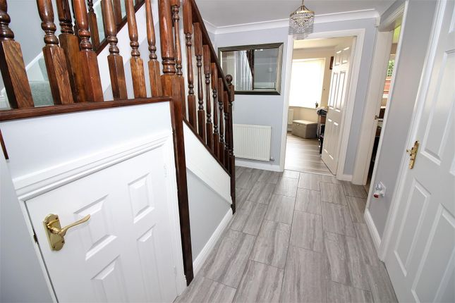 Hallway of Kingsdale Grove, Chellaston, Derby DE73