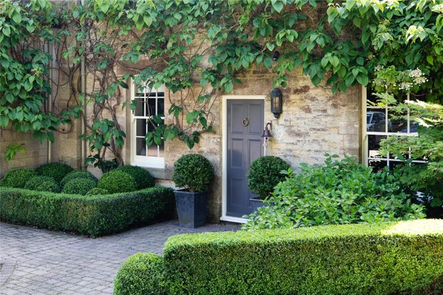 Front Door of Duntisbourne Abbots, Cirencester, Gloucestershire GL7