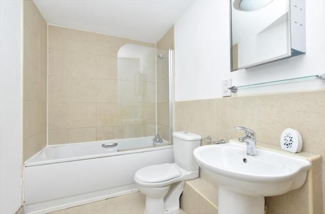 Bathroom of Smithfield Apartments, 131 Rockingham Street, Sheffield, South Yorkshire S1