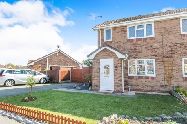 Thumbnail Semi-detached house for sale in Lon Glanfor, Abergele, Conwy, North Wales