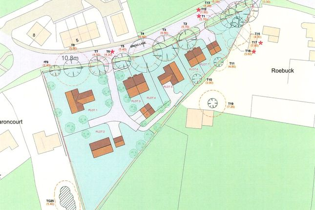 Thumbnail Land for sale in Land Adjacent To Roebuck, Brigg Road
