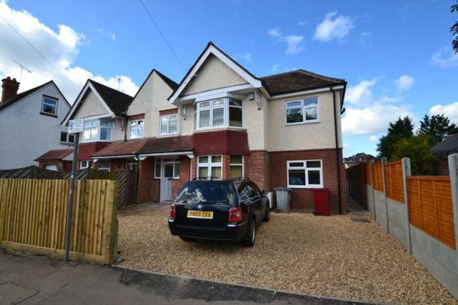 Thumbnail Semi-detached house to rent in Northcourt Avenue, Reading