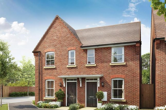 "Thumbnail Terraced house for sale in ""Hursley"" at Aspen Gardens, Hook"